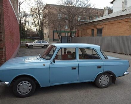 Синій Москвич / АЗЛК 412, об'ємом двигуна 1.5 л та пробігом 100 тис. км за 450 $, фото 1 на Automoto.ua