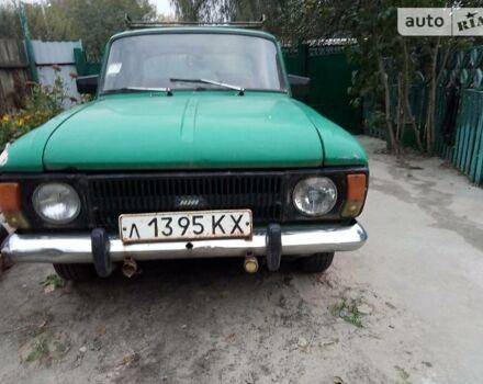 Зеленый Москвич / АЗЛК 412, объемом двигателя 1.5 л и пробегом 90 тыс. км за 400 $, фото 1 на Automoto.ua