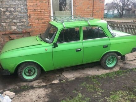 Зелений Москвич / АЗЛК 412, об'ємом двигуна 1.5 л та пробігом 70 тис. км за 500 $, фото 1 на Automoto.ua