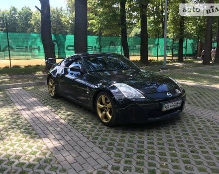 Черный Ниссан 350З, объемом двигателя 3.5 л и пробегом 113 тыс. км за 12999 $, фото 1 на Automoto.ua