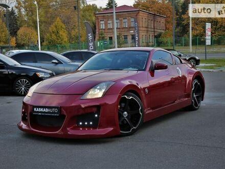 Червоний Ніссан 350Z, об'ємом двигуна 3.5 л та пробігом 45 тис. км за 12500 $, фото 1 на Automoto.ua