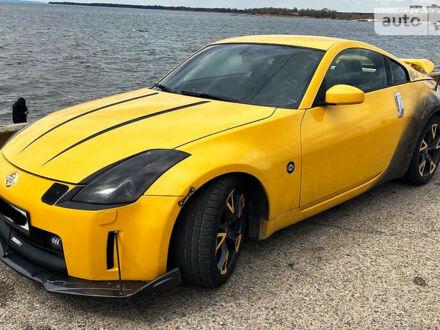 Жовтий Ніссан 350Z, об'ємом двигуна 3.5 л та пробігом 160 тис. км за 12500 $, фото 1 на Automoto.ua