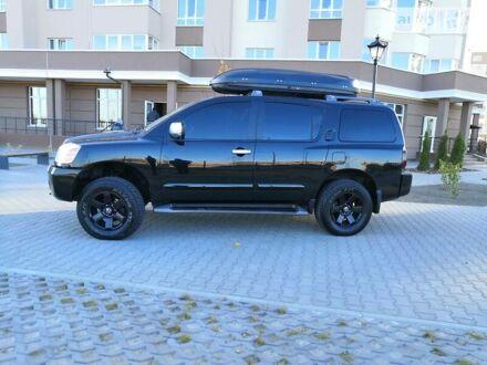 Черный Ниссан Армада, объемом двигателя 5.6 л и пробегом 158 тыс. км за 15400 $, фото 1 на Automoto.ua