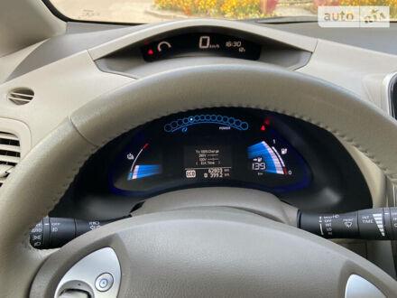 Синій Ніссан Ліф, об'ємом двигуна 0 л та пробігом 64 тис. км за 10000 $, фото 1 на Automoto.ua