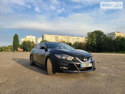 Черный Ниссан Максима, объемом двигателя 3.5 л и пробегом 65 тыс. км за 23499 $, фото 1 на Automoto.ua