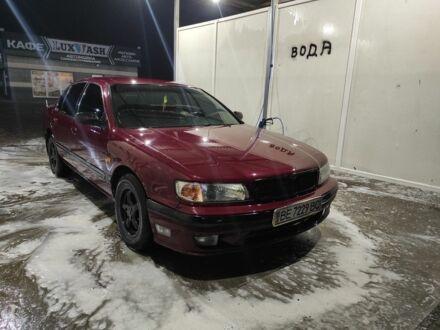 Красный Ниссан Максима, объемом двигателя 2 л и пробегом 20 тыс. км за 3200 $, фото 1 на Automoto.ua