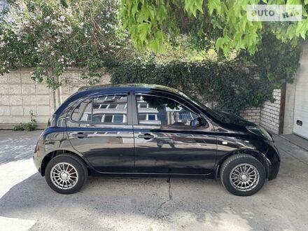 Черный Ниссан Микра, объемом двигателя 1.2 л и пробегом 95 тыс. км за 6500 $, фото 1 на Automoto.ua