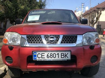 Красный Ниссан НП300, объемом двигателя 2.5 л и пробегом 262 тыс. км за 11000 $, фото 1 на Automoto.ua
