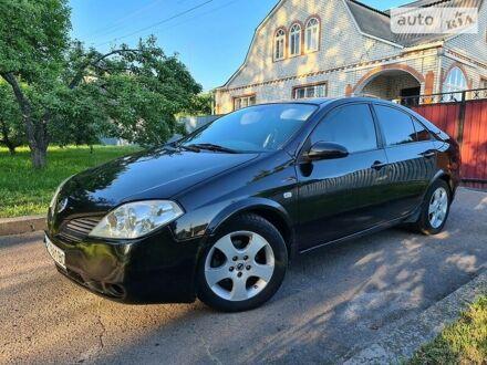 Черный Ниссан Примера, объемом двигателя 2 л и пробегом 124 тыс. км за 4850 $, фото 1 на Automoto.ua
