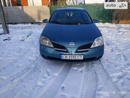 Синий Ниссан Примера, объемом двигателя 1.8 л и пробегом 320 тыс. км за 5500 $, фото 1 на Automoto.ua