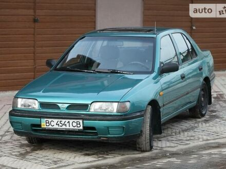 Зелений Ніссан Санні, об'ємом двигуна 1.4 л та пробігом 260 тис. км за 2550 $, фото 1 на Automoto.ua