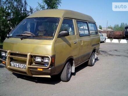 Жовтий Ніссан Ванетте пас., об'ємом двигуна 1.5 л та пробігом 237 тис. км за 2000 $, фото 1 на Automoto.ua