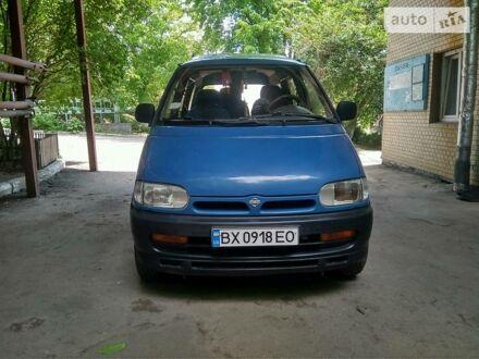 Синій Ніссан Ванетте пас., об'ємом двигуна 2.3 л та пробігом 265 тис. км за 3500 $, фото 1 на Automoto.ua