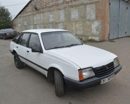 Белый Опель Аскона, объемом двигателя 1.6 л и пробегом 1 тыс. км за 1500 $, фото 1 на Automoto.ua