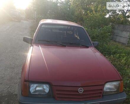Червоний Опель Аскона, об'ємом двигуна 1.6 л та пробігом 63 тис. км за 1100 $, фото 1 на Automoto.ua
