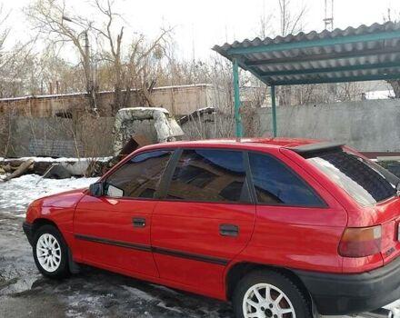 Червоний Опель Астра Ф, об'ємом двигуна 1.4 л та пробігом 480 тис. км за 2900 $, фото 1 на Automoto.ua