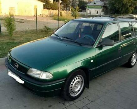 Зеленый Опель Астра Ф, объемом двигателя 1.7 л и пробегом 300 тыс. км за 3200 $, фото 1 на Automoto.ua