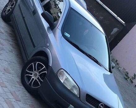 Сірий Опель Астра Г, об'ємом двигуна 1.6 л та пробігом 250 тис. км за 3900 $, фото 1 на Automoto.ua
