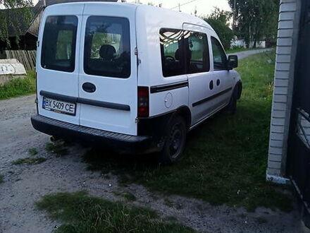 Белый Опель Кампо, объемом двигателя 1.3 л и пробегом 250 тыс. км за 4000 $, фото 1 на Automoto.ua