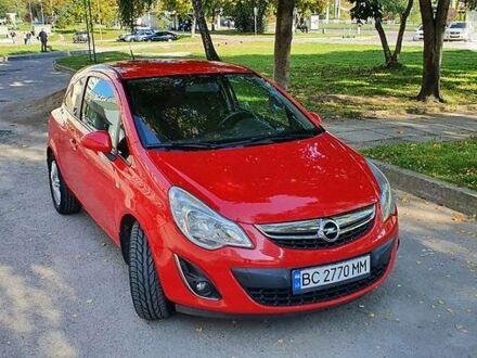 Красный Опель Корса, объемом двигателя 1.2 л и пробегом 146 тыс. км за 7000 $, фото 1 на Automoto.ua
