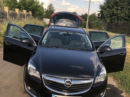 Черный Опель Инсигния, объемом двигателя 2 л и пробегом 270 тыс. км за 12500 $, фото 1 на Automoto.ua