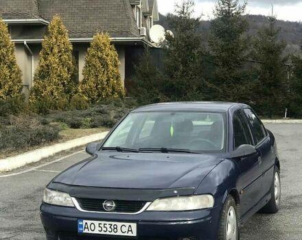 Синій Опель Вектра Б, об'ємом двигуна 2 л та пробігом 260 тис. км за 3900 $, фото 1 на Automoto.ua