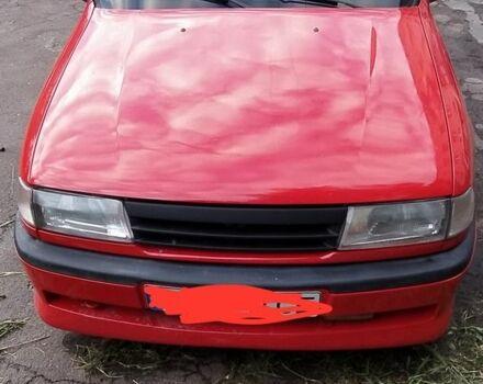 Красный Опель Вектра, объемом двигателя 2 л и пробегом 481 тыс. км за 2700 $, фото 1 на Automoto.ua