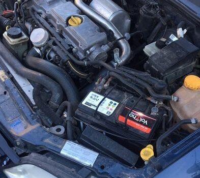 Синий Опель Вектра, объемом двигателя 2 л и пробегом 200 тыс. км за 1050 $, фото 1 на Automoto.ua