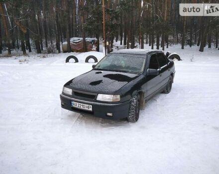 Черный Опель Вектра А, объемом двигателя 2 л и пробегом 280 тыс. км за 3700 $, фото 1 на Automoto.ua