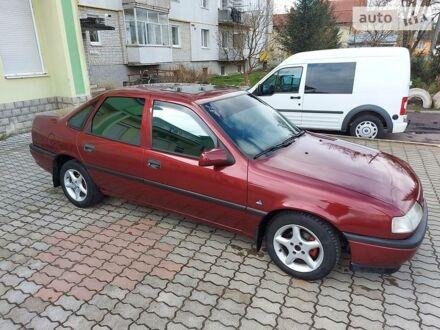 Красный Опель Вектра А, объемом двигателя 1.6 л и пробегом 100 тыс. км за 2500 $, фото 1 на Automoto.ua
