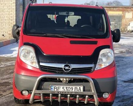 Красный Опель Виваро пасс., объемом двигателя 2 л и пробегом 230 тыс. км за 10000 $, фото 1 на Automoto.ua
