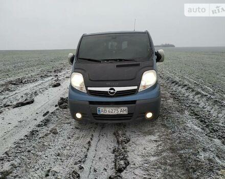 Синий Опель Виваро пасс., объемом двигателя 0 л и пробегом 410 тыс. км за 8500 $, фото 1 на Automoto.ua