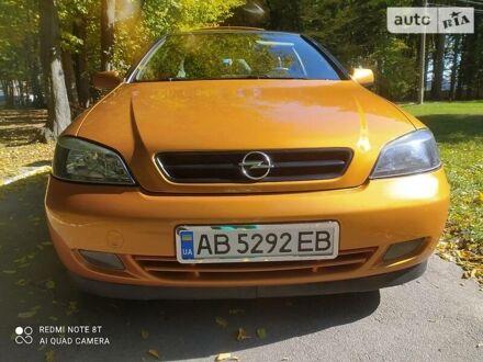 Желтый Опель Astra Coupe Bertone, объемом двигателя 1.8 л и пробегом 289 тыс. км за 4750 $, фото 1 на Automoto.ua