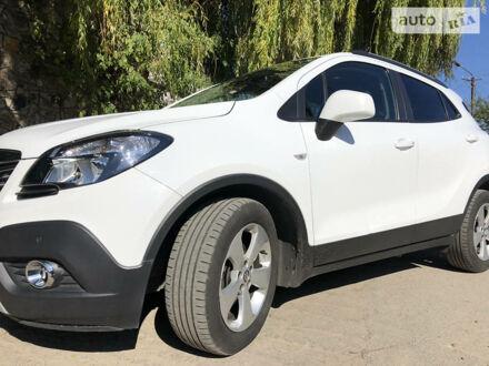 Белый Опель Mokka, объемом двигателя 1.6 л и пробегом 145 тыс. км за 12500 $, фото 1 на Automoto.ua