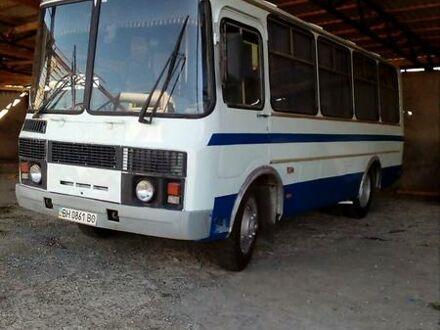 Белый ПАЗ 3205, объемом двигателя 3.8 л и пробегом 120 тыс. км за 2850 $, фото 1 на Automoto.ua