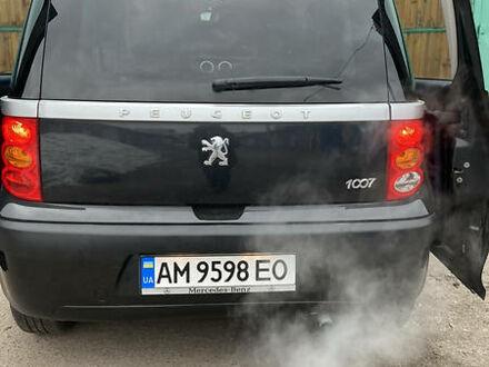 Чорний Пежо 1007, об'ємом двигуна 1.4 л та пробігом 145 тис. км за 5000 $, фото 1 на Automoto.ua