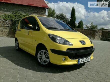 Жовтий Пежо 1007, об'ємом двигуна 1.6 л та пробігом 135 тис. км за 4999 $, фото 1 на Automoto.ua