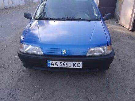 Синий Пежо 106, объемом двигателя 1 л и пробегом 355 тыс. км за 2500 $, фото 1 на Automoto.ua