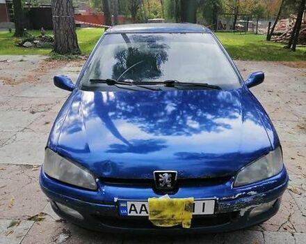 Синий Пежо 106, объемом двигателя 1.1 л и пробегом 265 тыс. км за 800 $, фото 1 на Automoto.ua