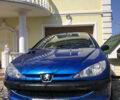 Синий Пежо 206, объемом двигателя 1.1 л и пробегом 231 тыс. км за 4200 $, фото 1 на Automoto.ua