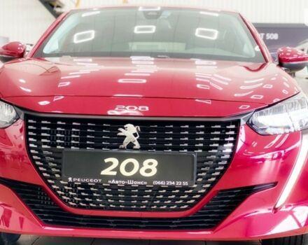 купити нове авто Пежо 208 2021 року від офіційного дилера Авто-Шанс Пежо фото