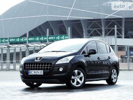 Чорний Пежо 3008, об'ємом двигуна 2 л та пробігом 205 тис. км за 9299 $, фото 1 на Automoto.ua