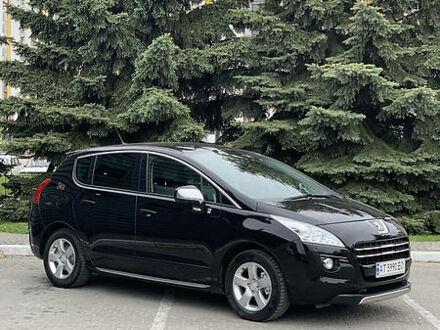 Черный Пежо 3008, объемом двигателя 2 л и пробегом 149 тыс. км за 13600 $, фото 1 на Automoto.ua