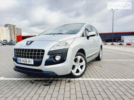 Серый Пежо 3008, объемом двигателя 1.6 л и пробегом 141 тыс. км за 9900 $, фото 1 на Automoto.ua