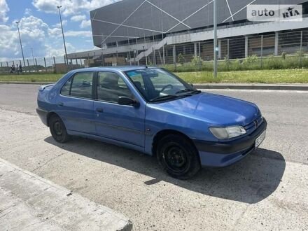 Синій Пежо 306, об'ємом двигуна 1.6 л та пробігом 173 тис. км за 2900 $, фото 1 на Automoto.ua