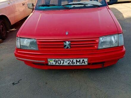 Червоний Пежо 309, об'ємом двигуна 1.4 л та пробігом 260 тис. км за 1650 $, фото 1 на Automoto.ua