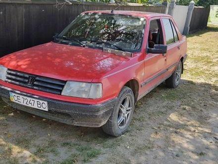 Червоний Пежо 309, об'ємом двигуна 1.9 л та пробігом 70 тис. км за 1600 $, фото 1 на Automoto.ua