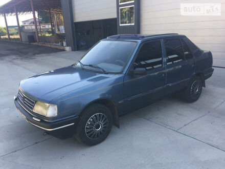 Синій Пежо 309, об'ємом двигуна 1.3 л та пробігом 185 тис. км за 1850 $, фото 1 на Automoto.ua