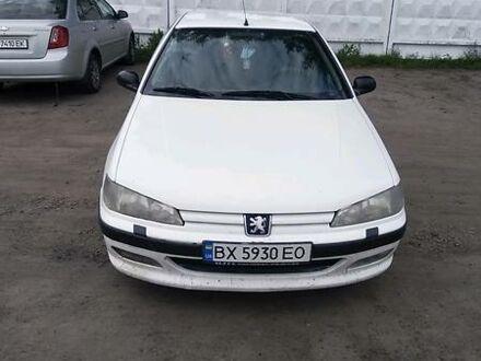 Белый Пежо 406, объемом двигателя 1.8 л и пробегом 290 тыс. км за 2600 $, фото 1 на Automoto.ua