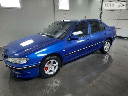 Синій Пежо 406, об'ємом двигуна 1.8 л та пробігом 298 тис. км за 4000 $, фото 1 на Automoto.ua